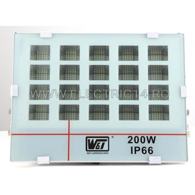 PROIECTOR LED 200W IP66 T-011 LUMINA RECE