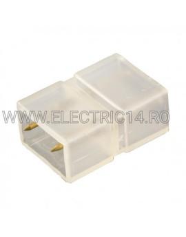 CONECTOR IMBINARE BANDA LED 2 CONTACTE 220V 5050/5630