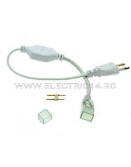 CABLU +MUFA ALIMENTARE BANDA LED 220V 5050/5630