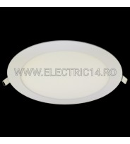 SPOT LED 18W SLIM LUMINA INTERMEDIARA (ROTUND)