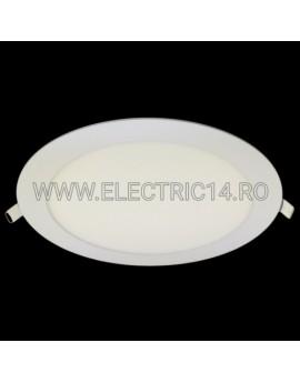 SPOT LED 18W SLIM LUMINA CALDA (ROTUND) SPOTURI LED