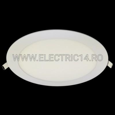 SPOT LED 18W SLIM LUMINA RECE (ROTUND)