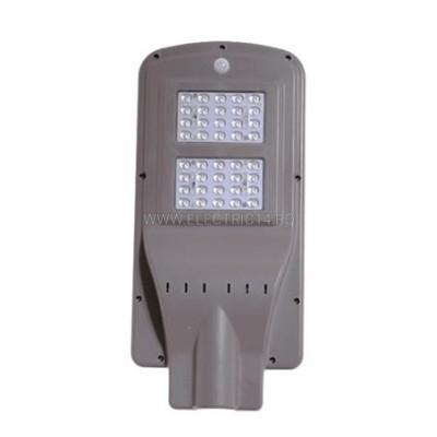 CORP ILUMINAT STRADAL LED 40W SOLAR CU SENZOR ABS