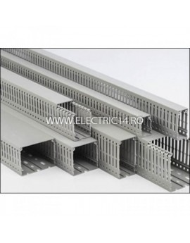 CANAL CABLU PVC PERFORAT 80X60MM