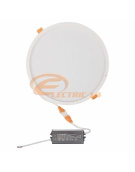 SPOT LED 30W ALB ROTUND IP54/3C LUMINA RECE + CALDA + NEUTRA
