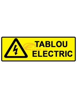 AUTOCOLANT INDICATOR TABLOU ELECTRIC 5 X 15 CM ( SET 18 BUC ETICHETE / COALA )