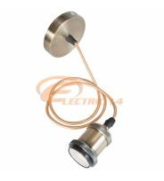 PENDUL DECORATIV E27 METALIC GOLD MAT - GM