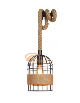 PENDUL FUNIE VINTAGE 1 X E27 CAGE