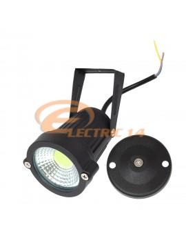 LAMPA GRADINA LED 5W COB NEGRU IP65 LUMINA CALDA