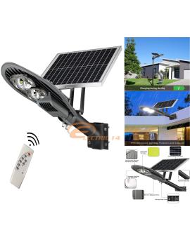 CORP ILUMINAT STRADAL LED 100W + PANOU SOLAR CU TELECOMANDA