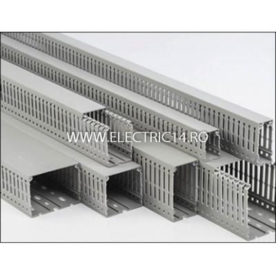 CANAL CABLU PVC PERFORAT 100X60MM