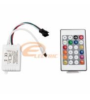 CONTROLER BANDA LED 12V RGB + TELECOMANDA