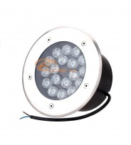 SPOT LED PAVAJ 18W 180MM LUMINA RECE IP65