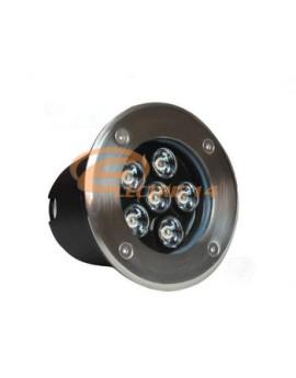SPOT LED PAVAJ 6W 120MM LUMINA CALDA IP65