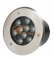 SPOT LED PAVAJ 9W 150MM LUMINA RECE IP65 LH-D 901 (INT.132MM)