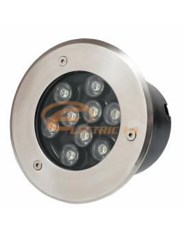 Spot Led Pavaj 9w 150mm Lumina Rece IP65 LH-D 901 (int.132mm)