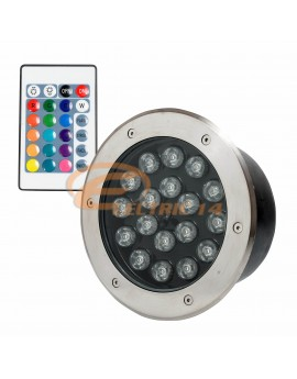 SPOT LED PAVAJ 18W 200MM RGB IP65 (INT.186MM) SPOTURI LED