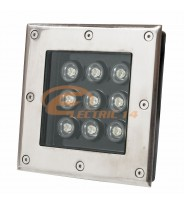Spot Led Pavaj 9w 160x160mm Lumina Rece IP65 (int.154x154mm)