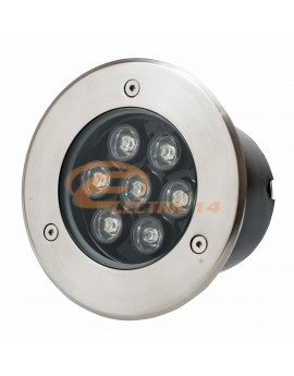 Spot Led Pavaj 7w 150mm Lumina Rece IP65 (int.134mm)