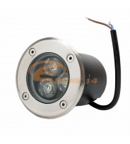 SPOT LED PAVAJ 3W 80MM LUMINA CALDA IP65 LH-D 301 (INT.74MM)