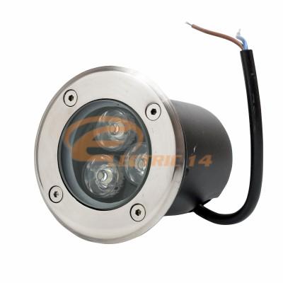 SPOT LED PAVAJ 3W 80MM LUMINA VERDE IP65 LH-D 301 (INT.74MM)
