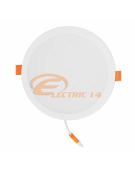 SPOT LED 18W ALB ROTUND PLASTIC INGROPAT 598 LUMINA NEUTRA SPOTURI LED