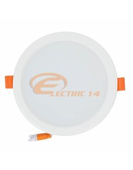 SPOT LED 12W ALB ROTUND PLASTIC INGROPAT 598 LUMINA NEUTRA SPOTURI LED