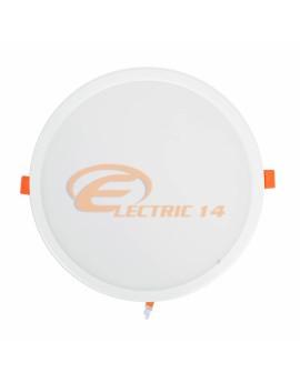 SPOT LED 30W ALB ROTUND PLASTIC INGROPAT 598 LUMINA NEUTRA