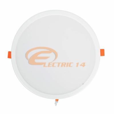 SPOT LED 30W ALB ROTUND PLASTIC INGROPAT 598 LUMINA RECE