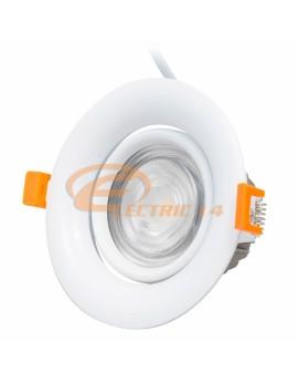 SPOT LED 12W ALB ROTUND 5152 COB REGLABIL LUMINA NEUTRA SPOTURI LED