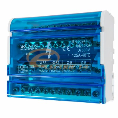 Distribuitor Tetrapolar 411-125a (1.5mm-35mm)