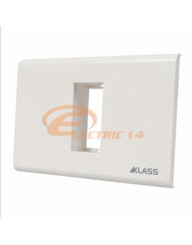 Suport-Rama 1 Modul Alb M-Klass KLASS NORMAL-MODULAR