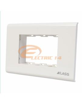 Suport-Rama 3 Module Alb M-Klass KLASS NORMAL-MODULAR