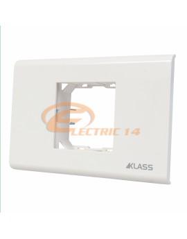 Suport-Rama 2 Module Alb M-Klass KLASS NORMAL-MODULAR
