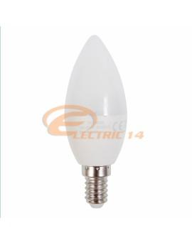 BEC LED E14 7W SMD LUMANARE C37 LUMINA CALDA FOMSI