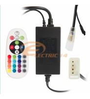 CONTROLER BANDA LED 220V RGB + TELECOMANDA