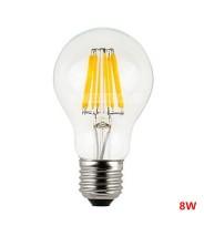 Bec Led E27 8w Clasic Filament Lumina Rece