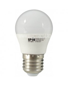 BEC LED E27 3W SMD SFERIC P45 LUMINA CALDA SPN