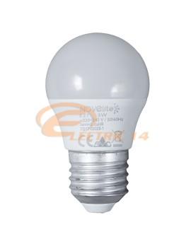 BEC LED E27 5W  SFERIC P45 LUMINA RECE NOVELITE