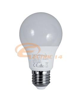BEC LED E27 9W GLOB LUMINA CALDA NOVELITE