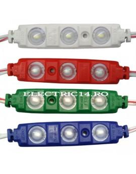 MODUL LED LUPA 12V 3X0,5W 2445 ALBASTRU