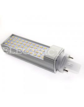 Bec Led G24 9w SMD 5730 Tip Pl Aluminiu Lumina Calda