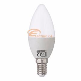 BEC LED E14 10W LUMANARE LUMINA RECE