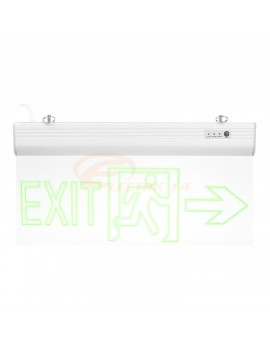 LAMPA EXIT LED 3W SAGEATA LATERAL