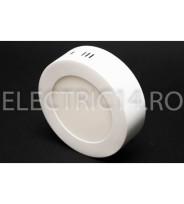 Aplica led 6w lumina rece rotunda