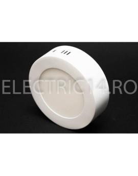 Aplica led 6w lumina calda rotunda