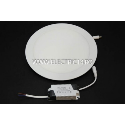 Spot Led 24w Plat Lumina Intermediara (rotund)
