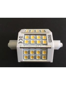 Bec Led R7S 5,5w SMD Lumina Rece