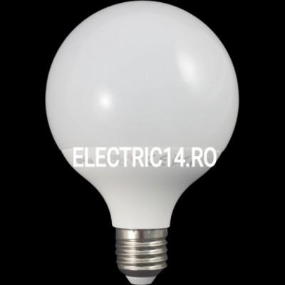 Bec led E27 15w G95 Lumina Rece SPN