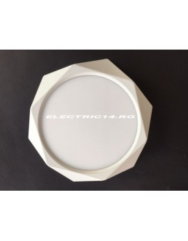 Aplica Led 24w Diamond Alb Lumina Rece